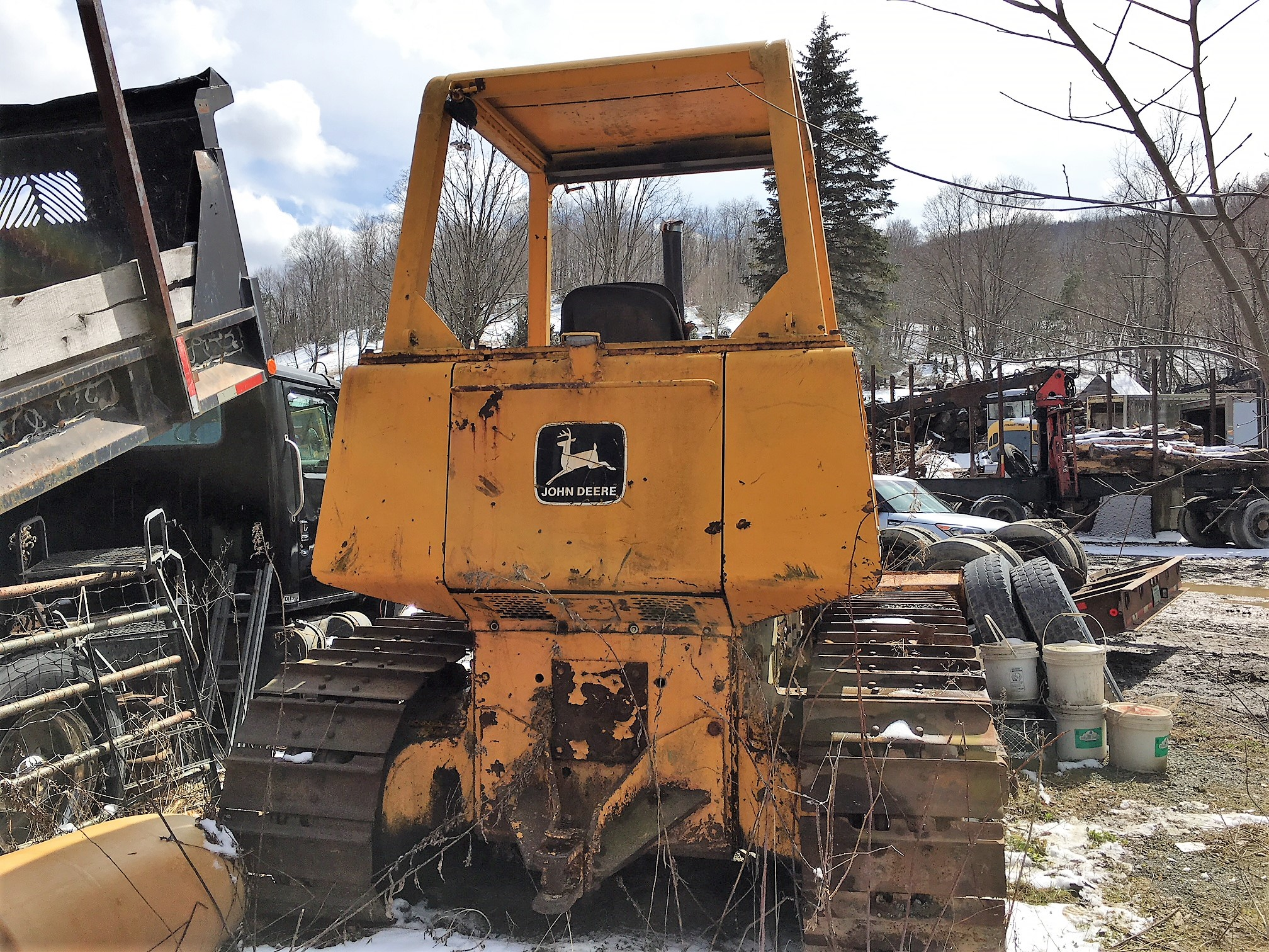 John Deere 750 E Parts Bulldozer $7'000 - United Exchange USA