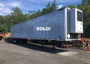 For Sale 53' refrigerated trailer $6'500 SOLD!